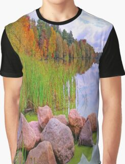 Rib Lake,Wisconsin U.S.A. Graphic T-Shirt