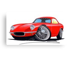 Lotus Elite S1 Red Canvas Print