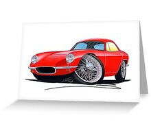 Lotus Elite S1 Red Greeting Card