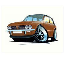 Triumph Dolomite Sprint Brown Art Print