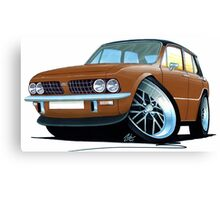 Triumph Dolomite Sprint Brown Canvas Print