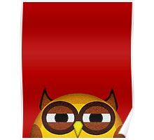 Pocket owl is highly suspicious Poster
