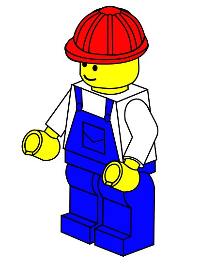 Workman Minifig by Customize My Minifig by ChilleeW