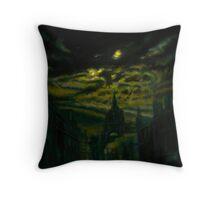 Altered II, Dark Night Throw Pillow