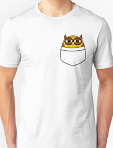 Pocket owl is highly suspicious Unisex T-Shirt