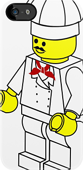 Chef Minifig by Customize My Minifig by ChilleeW