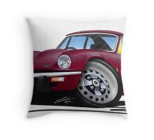 Triumph GT6 Damson Throw Pillow