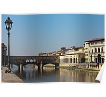 Ponte Vecchio in Florence Poster