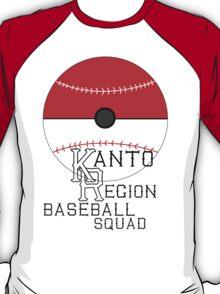 Kanto Region Baseball Shirt T-Shirt