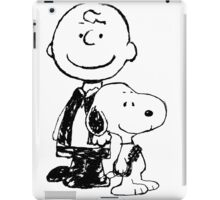 Peanuts meets Star Wars iPad Case/Skin