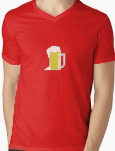 Beer T-Shirt Mens V-Neck T-Shirt