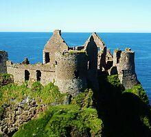 Dunluce Castle Antrim Ireland by Sean McAughey