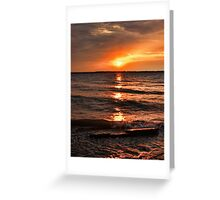 Friday The 13th Sunset Greeting Card