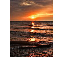 Friday The 13th Sunset Photographic Print