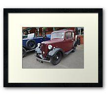 Austin Seven Car Framed Print
