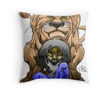 One Sire Throw Pillow