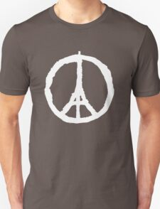 Paris Peace Symbol | White T-Shirt