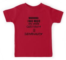 Punk Causes Creativity and Individuality Kids Tee