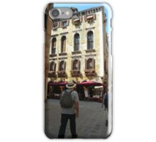Striding out in Venice! iPhone Case/Skin