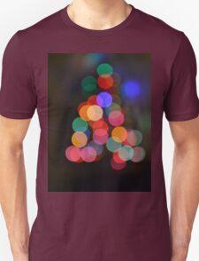 Little Bokeh Christmas Tree T-Shirt