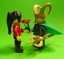 Loki Love by arlain