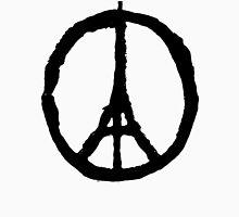 Eiffel Tower Peace Symbol T-Shirt
