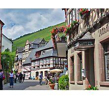 Bacharach on the Rhein river - Germany Photographic Print