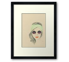 Miss. Minty Fresh Framed Print
