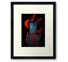 Blue Ent Framed Print