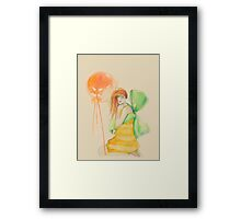 Little Miss. Sunshine Framed Print