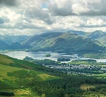 Derwentwater and Latrigg by Jamie  Green