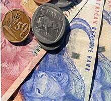 South African rand by stuwdamdorp