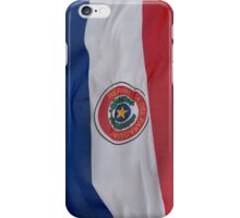 Paraguay flag iPhone Case/Skin