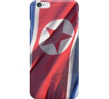 North Korea flag iPhone Case/Skin