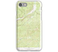 USGS Topo Map Washington State WA Aladdin 239772 1966 24000 iPhone Case/Skin