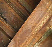 Rusty lines by Gisele Bedard