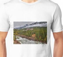 Banff Springs Hotel and the Bow River Unisex T-Shirt