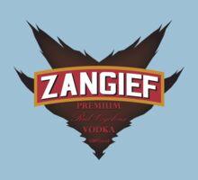 Zangief - Premium Red Cyclone Vodka Kids Clothes