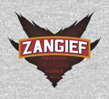 Zangief - Premium Red Cyclone Vodka Kids Clothes