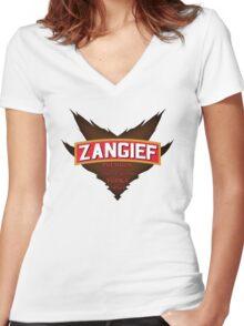 Zangief - Premium Red Cyclone Vodka Women's Fitted V-Neck T-Shirt