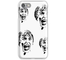 Psycho Scream Faces iPhone Case/Skin