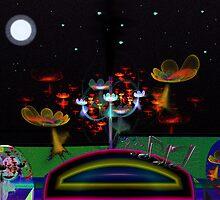 Flower Field #3: A Little Night Music  (G0839) by barrowda