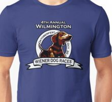 Wilmington Wiener Dog Races Unisex T-Shirt