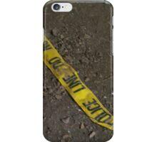 Police Line iPhone Case/Skin