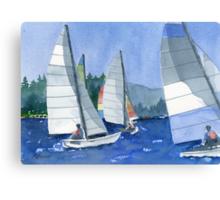 Afternoon Sail Canvas Print