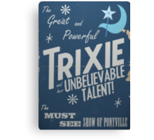 The Great and Powerful Trixie! Canvas Print