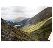 Lake District Valley Poster