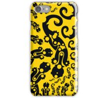 salamander from Silesia yellow2 iPhone Case/Skin