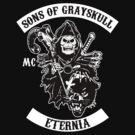 SONS OF GRAYSKULL!! (BLACK) by PureOfArt
