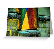 Sailboat on the Sill Greeting Card